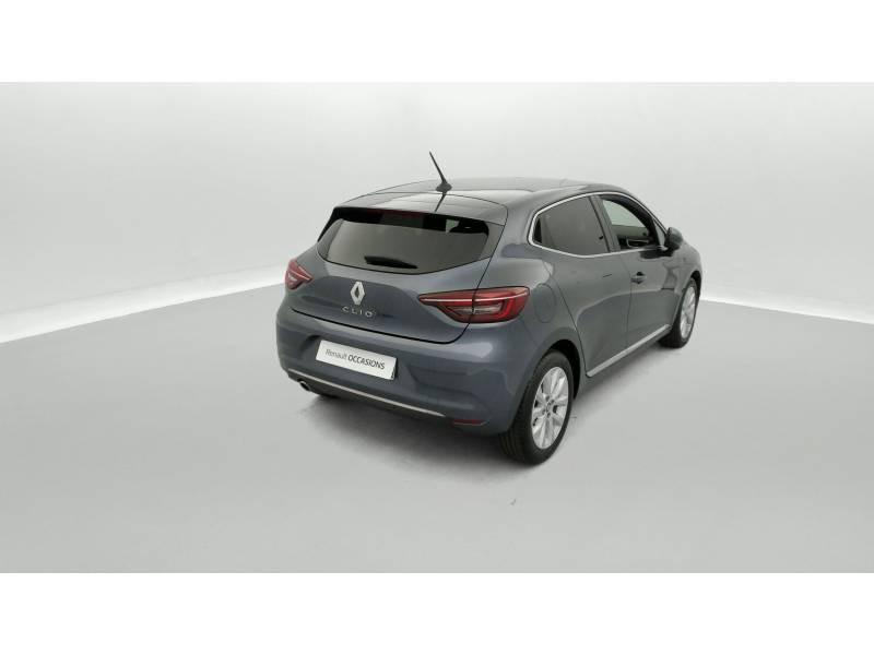 Renault Clio V TCe 130 EDC FAP Intens Gris occasion à SAINT-BRIEUC - photo n°3
