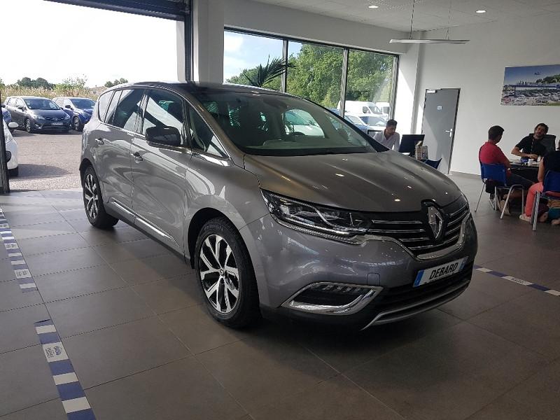 Renault Espace V 2.0 BLUE DCI 200CH INTENS EDC Gris occasion à Mérignac - photo n°2