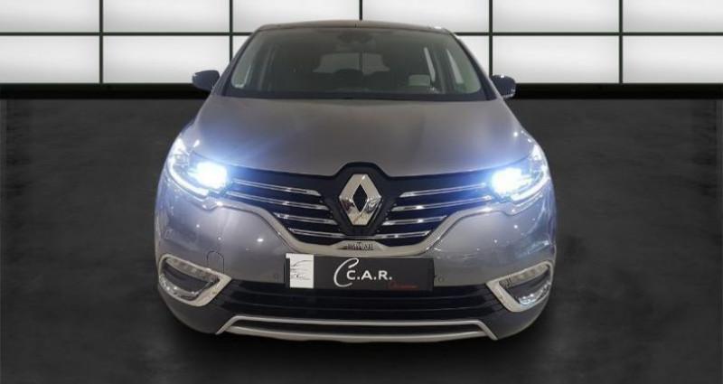 Renault Espace 1.6 dCi 160ch energy Initiale Paris EDC Gris occasion à La Rochelle - photo n°2