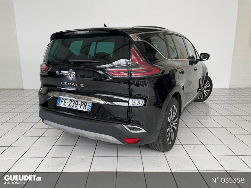 Renault Espace 2.0 Blue dCi 200ch Initiale Paris EDC Noir occasion à Beauvais - photo n°6