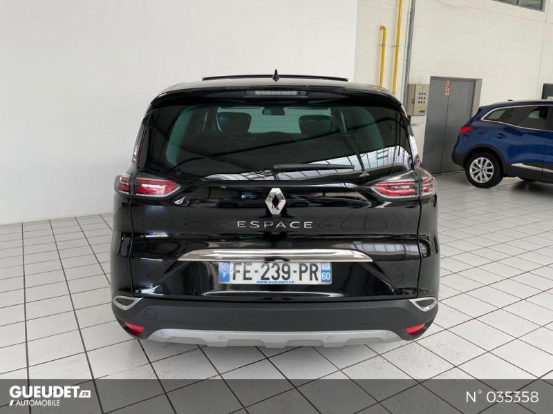 Renault Espace 2.0 Blue dCi 200ch Initiale Paris EDC Noir occasion à Beauvais - photo n°3