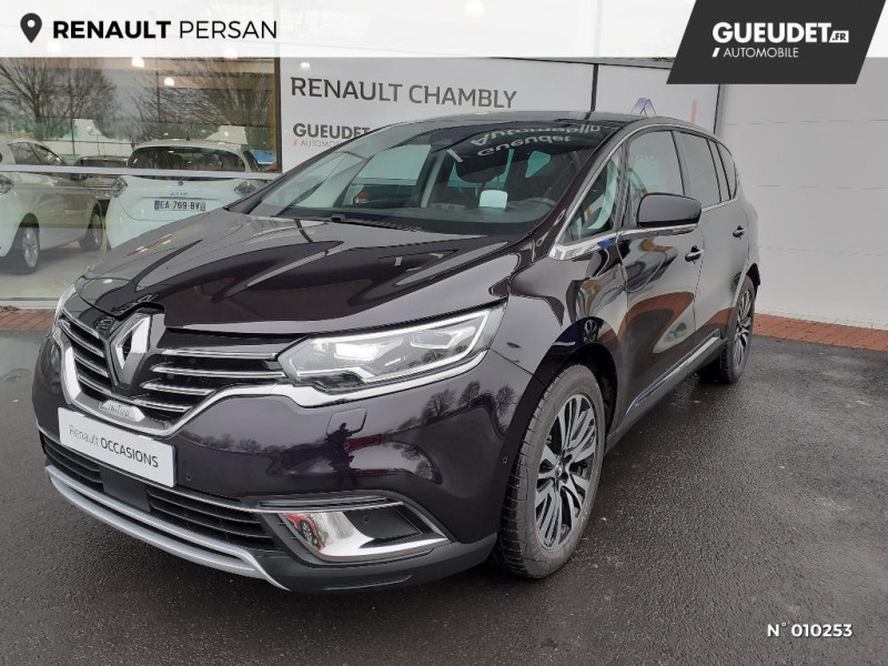 Renault Espace 2.0 Blue dCi 200ch Initiale Paris EDC Noir occasion à Persan