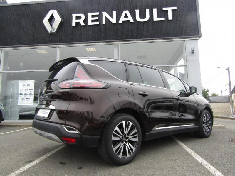 Renault Espace INITIALE PARIS ENERGY DCI 160 EDC Marron occasion à PONTIVY - photo n°3