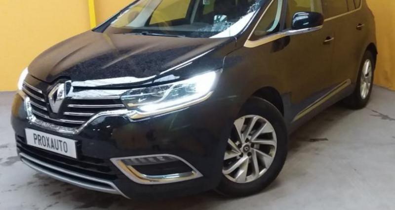 Renault Espace V 1.6dCi 160ch EDC Intens Noir occasion à Fontenay-le-vicomte
