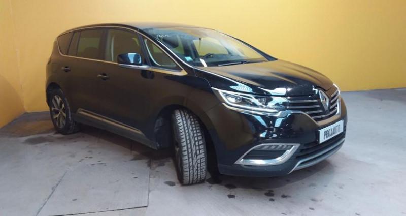Renault Espace V dCi 160 Energy Twin Turbo Intens EDC Noir occasion à Fontenay-le-vicomte - photo n°3