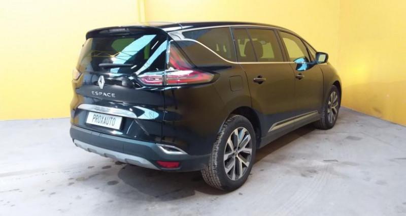 Renault Espace V dCi 160 Energy Twin Turbo Intens EDC Noir occasion à Fontenay-le-vicomte - photo n°4