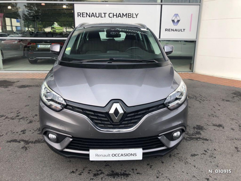 Renault Grand Scenic 1.5 dCi 110ch Energy Business 7 places Gris occasion à Chambly - photo n°2