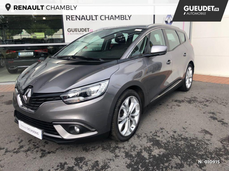 Renault Grand Scenic 1.5 dCi 110ch Energy Business 7 places Gris occasion à Chambly