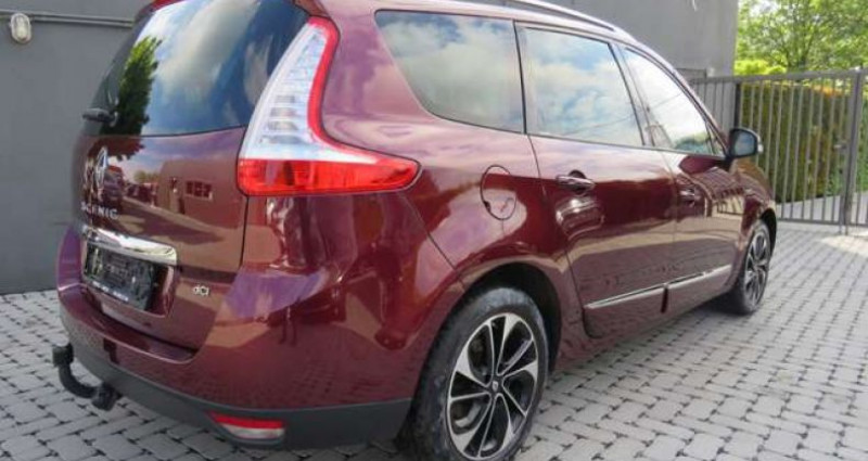 Renault Grand Scenic 1.5 dCi Energy Bose Edition 7pl. 8400eur+BTW - TVA Rouge occasion à Oosterzele - photo n°4