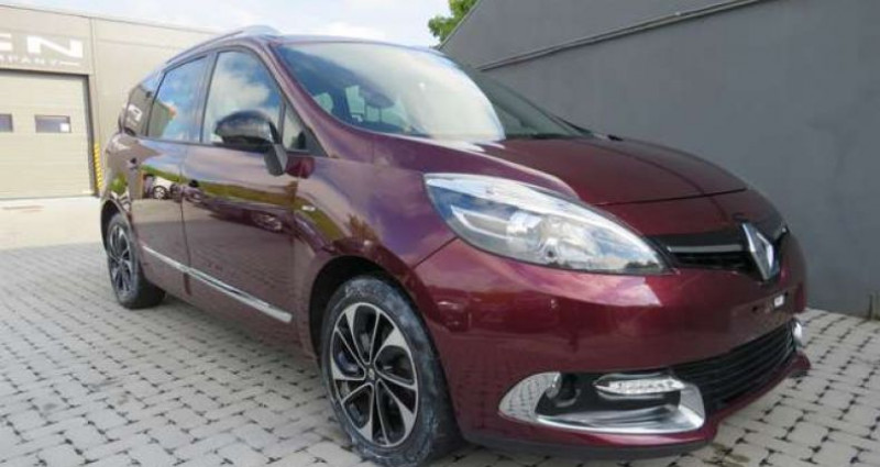 Renault Grand Scenic 1.5 dCi Energy Bose Edition 7pl. 8400eur+BTW - TVA Rouge occasion à Oosterzele