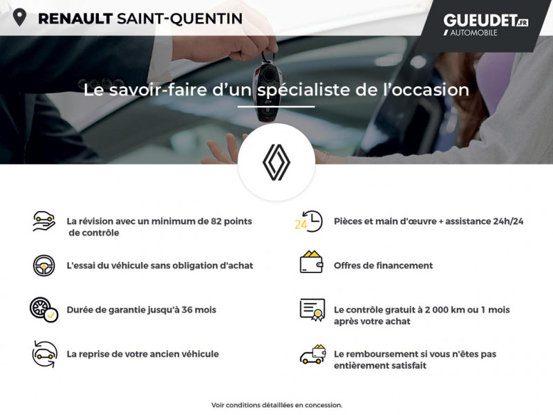 Renault Grand Scenic 1.7 Blue dCi 120ch Business 7 places Rouge occasion à Saint-Quentin - photo n°17