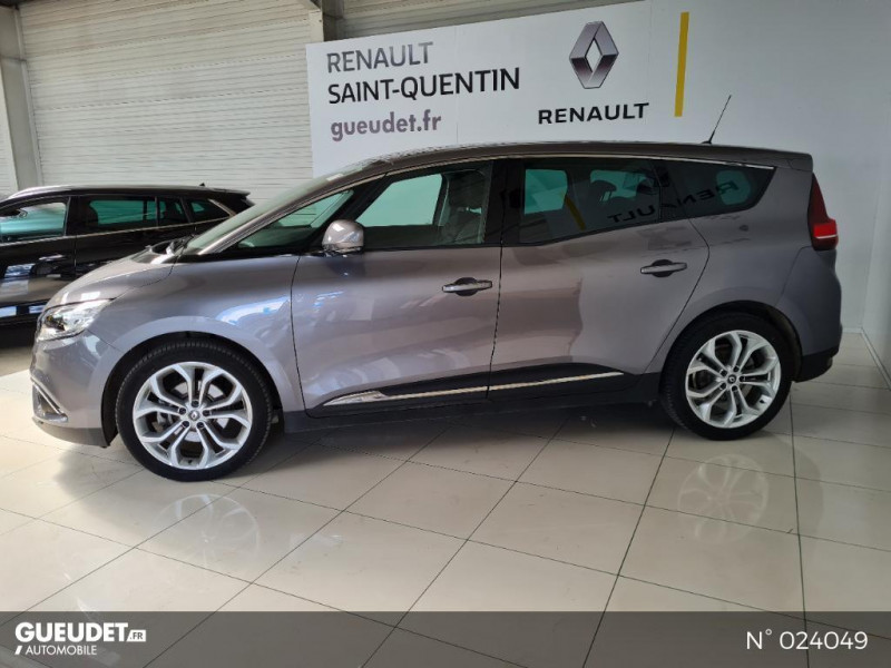 Renault Grand Scenic 1.7 Blue dCi 120ch Business Intens 7 places Gris occasion à Saint-Quentin - photo n°8