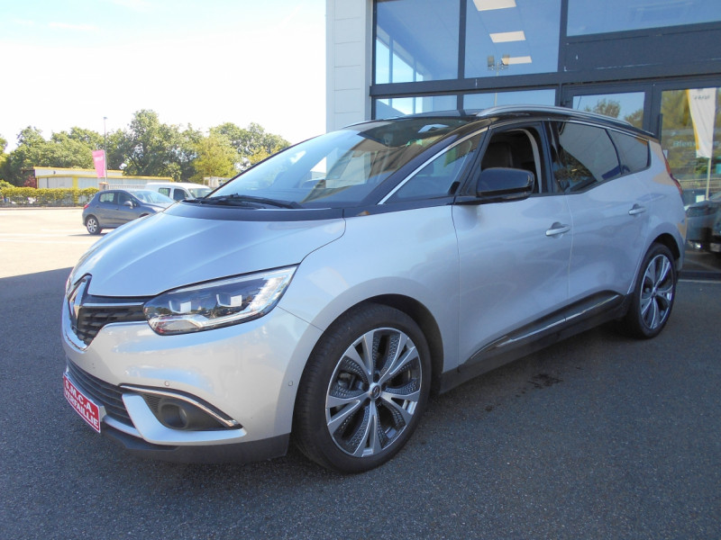 Renault Grand Scenic dCi 110 Energy EDC Intens Gris occasion à Bessières - photo n°7