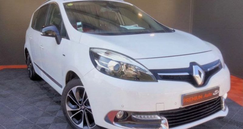Renault Grand Scenic grand 1.5 dci 110 Bose édition full options 7 places boite a Blanc occasion à Francin