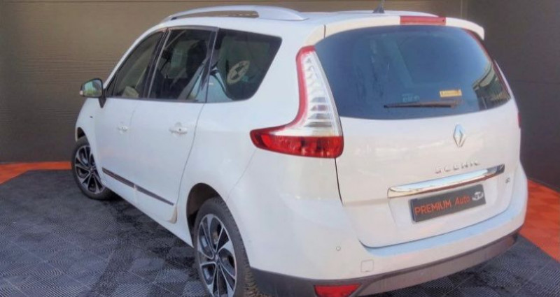 Renault Grand Scenic grand 1.5 dci 110 Bose édition full options 7 places boite a Blanc occasion à Francin - photo n°3