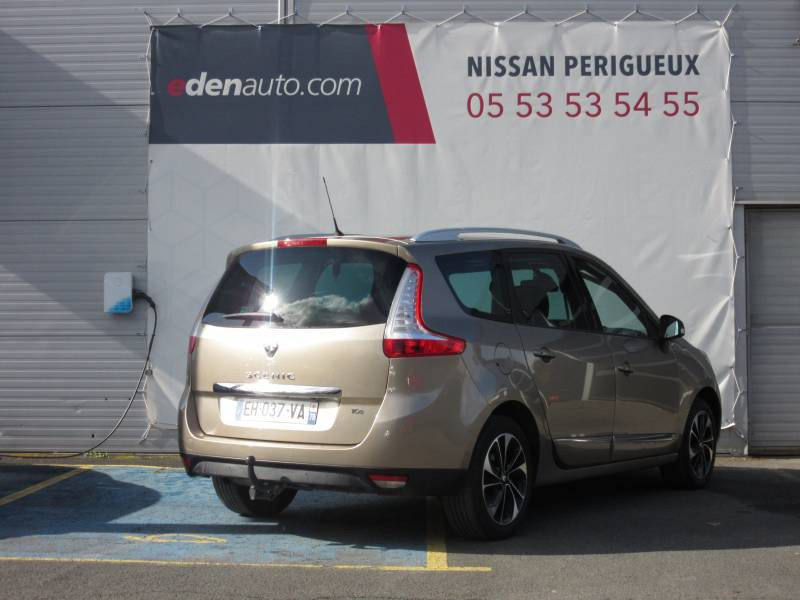 Renault Grand Scenic III TCe 130 Energy Bose Edition 7 pl Beige occasion à Périgueux - photo n°5