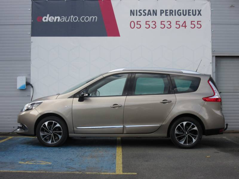 Renault Grand Scenic III TCe 130 Energy Bose Edition 7 pl Beige occasion à Périgueux - photo n°2