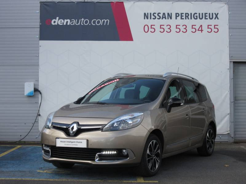 Renault Grand Scenic III TCe 130 Energy Bose Edition 7 pl Beige occasion à Périgueux