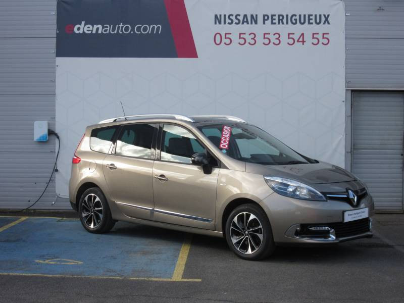 Renault Grand Scenic III TCe 130 Energy Bose Edition 7 pl Beige occasion à Périgueux - photo n°8