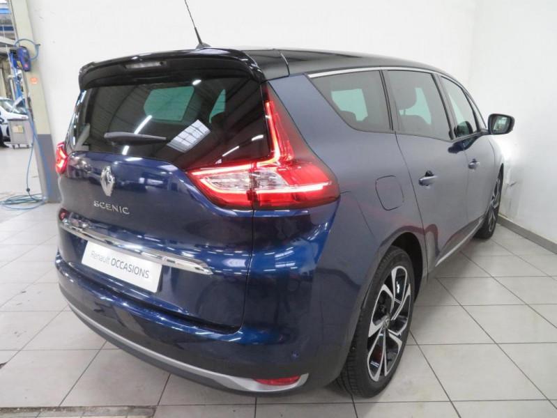 Renault Grand Scenic IV Blue dCi 120 EDC Intens Bleu occasion à QUIMPER - photo n°5