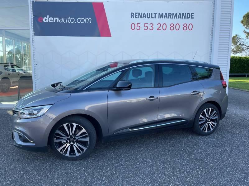 Renault Grand Scenic IV Blue dCi 150 EDC Initiale Paris Gris occasion à Sainte-Bazeille