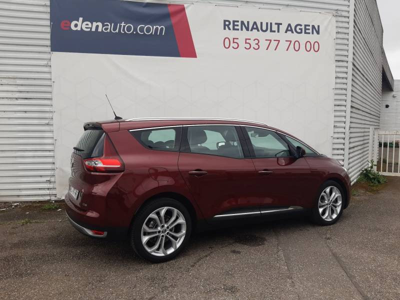 Renault Grand Scenic IV BUSINESS dCi 110 Energy EDC 7 pl Rouge occasion à Agen - photo n°5