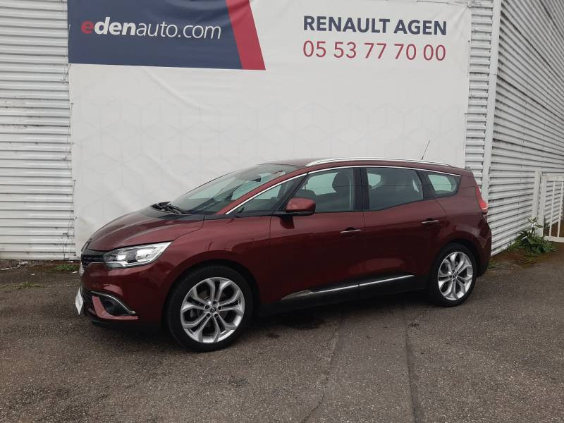 Renault Grand Scenic IV BUSINESS dCi 110 Energy EDC 7 pl Rouge occasion à Agen