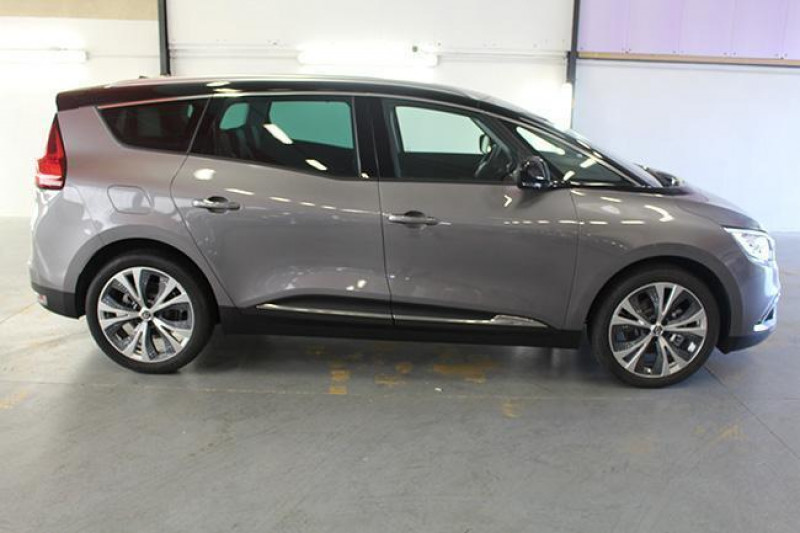 Renault Grand Scenic IV dCi 110 Energy EDC Intens Gris occasion à ARGENTAN - photo n°2