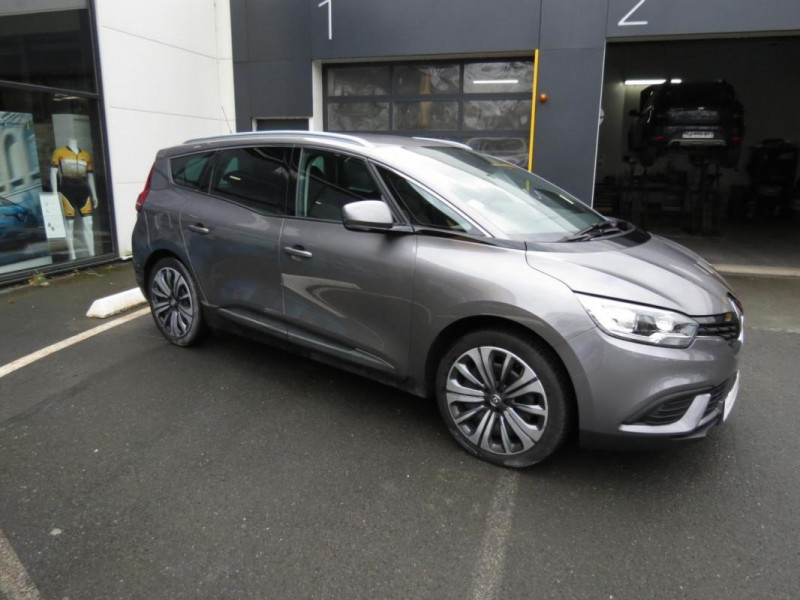 Renault Grand Scenic IV TCe 140 FAP Trend Gris occasion à CHATEAULIN - photo n°2