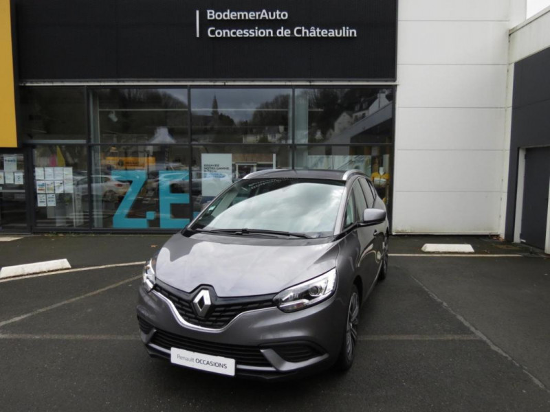 Renault Grand Scenic IV TCe 140 FAP Trend Gris occasion à CHATEAULIN