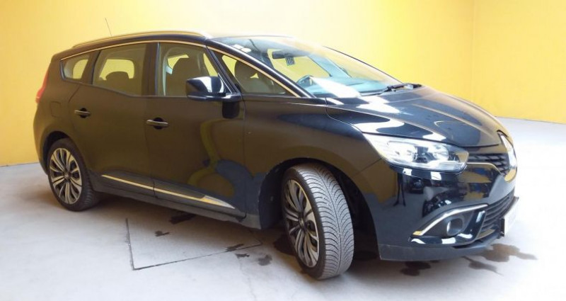 Renault Grand Scenic Scénic IV BUSINESS dCi 110 Energy 7 pl Noir occasion à Fontenay-le-vicomte - photo n°3