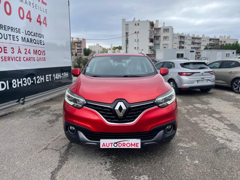 Renault Kadjar 1.2 TCe 130ch Intens - 80 000 Kms Rouge occasion à Marseille 10 - photo n°2