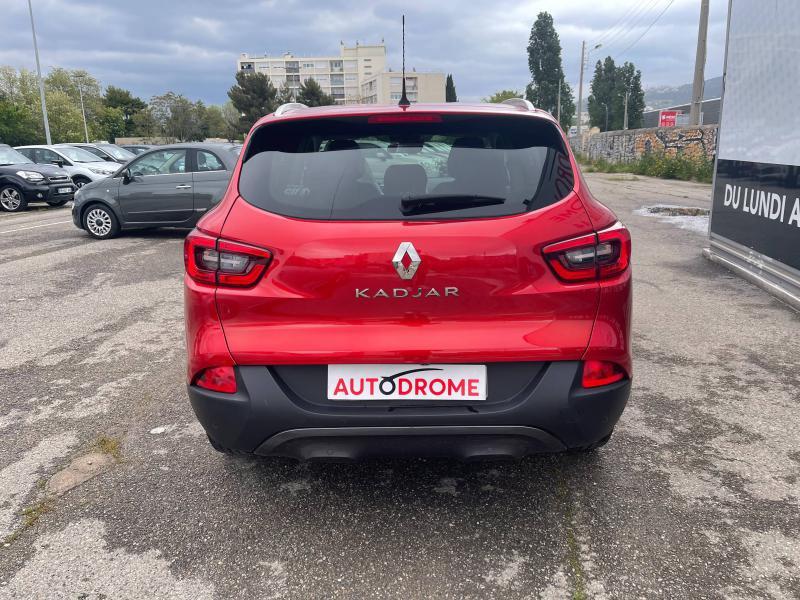 Renault Kadjar 1.2 TCe 130ch Intens - 80 000 Kms Rouge occasion à Marseille 10 - photo n°7