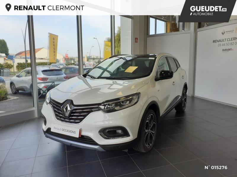 Renault Kadjar 1.3 TCe 140ch FAP Black Edition Blanc occasion à Clermont