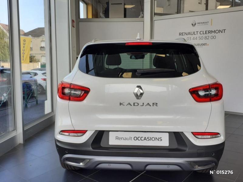 Renault Kadjar 1.3 TCe 140ch FAP Black Edition Blanc occasion à Clermont - photo n°3