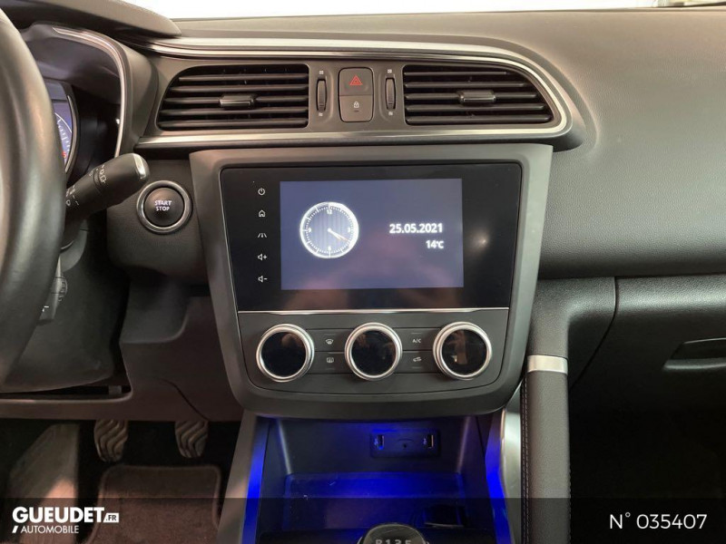 Renault Kadjar 1.5 Blue dCi 115ch Black Edition Gris occasion à Beauvais - photo n°11