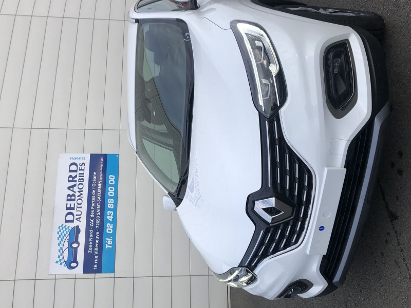 Renault Kadjar 1.5 BLUE DCI 115CH INTENS EDC Blanc occasion à Saint-Saturnin - photo n°2