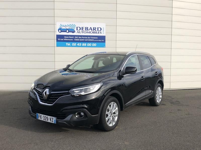 Renault Kadjar 1.5 DCI 110CH ENERGY INTENS ECO² Noir occasion à Saint-Saturnin - photo n°2