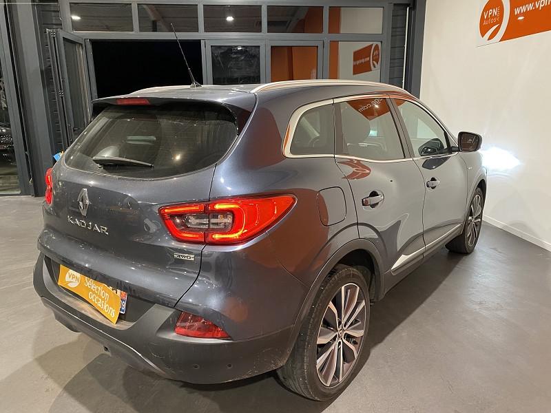 Renault Kadjar 1.6 DCI 130CH ENERGY INTENS 4WD Gris occasion à Foix - photo n°4