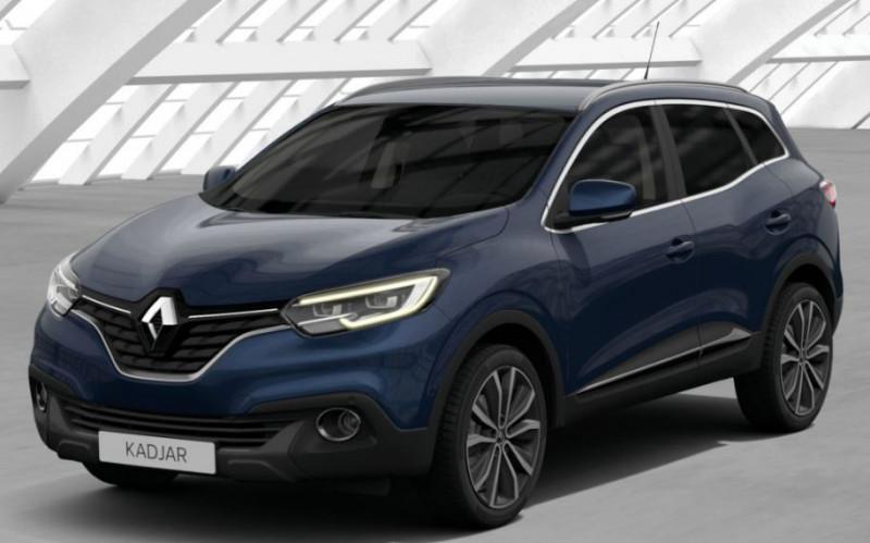 Renault Kadjar 1.6 dCi 130ch energy Intens Bleu occasion à CHATEAULIN