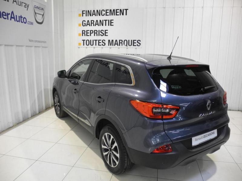 Renault Kadjar BUSINESS dCi 110 Energy EDC Gris occasion à AURAY - photo n°4
