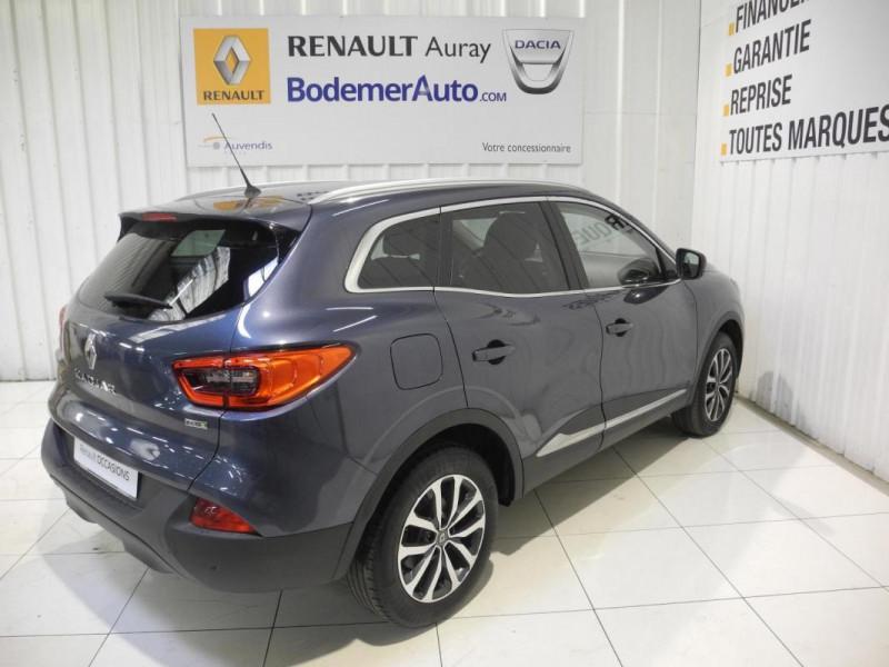 Renault Kadjar BUSINESS dCi 110 Energy EDC Gris occasion à AURAY - photo n°3