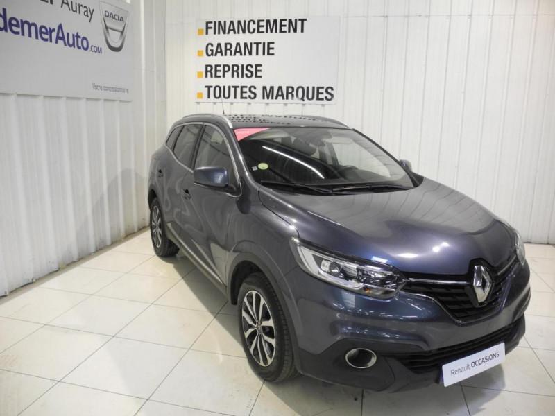 Renault Kadjar BUSINESS dCi 110 Energy EDC Gris occasion à AURAY - photo n°2