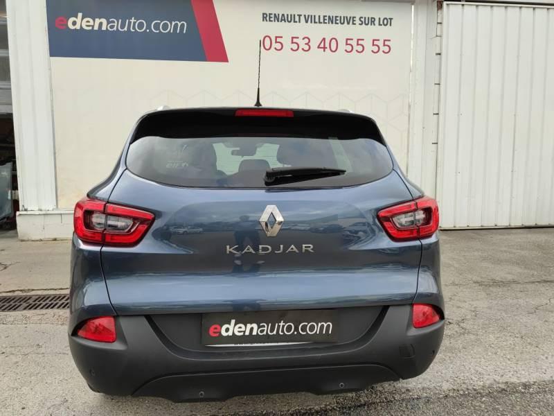 Renault Kadjar BUSINESS dCi 130 Energy Gris occasion à Villeneuve-sur-Lot - photo n°4
