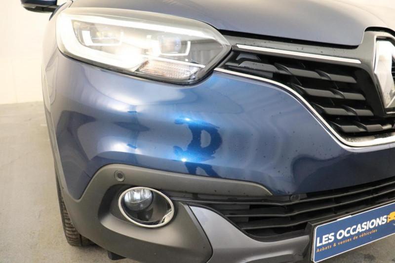 Renault Kadjar dCi 110 Energy Intens EDC Bleu occasion à Aubagne - photo n°8