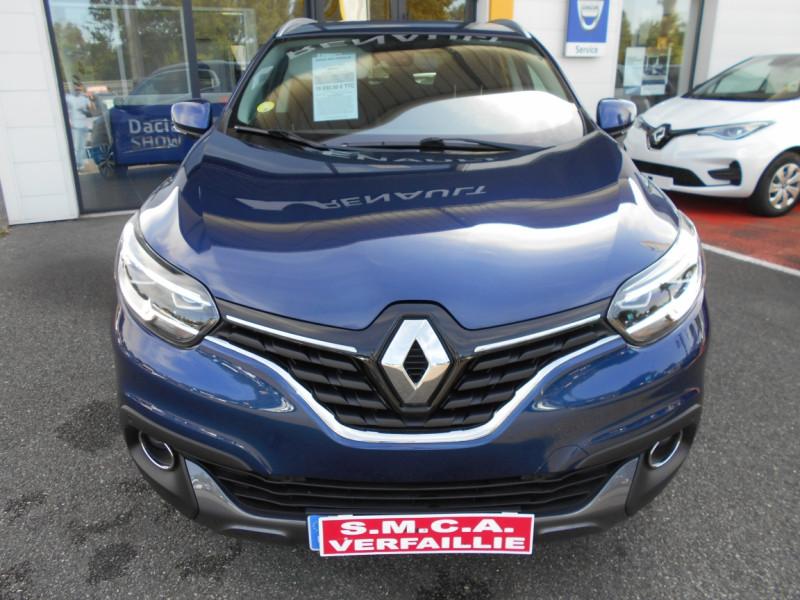Renault Kadjar dCi 110 Energy Intens Bleu occasion à Bessières - photo n°3
