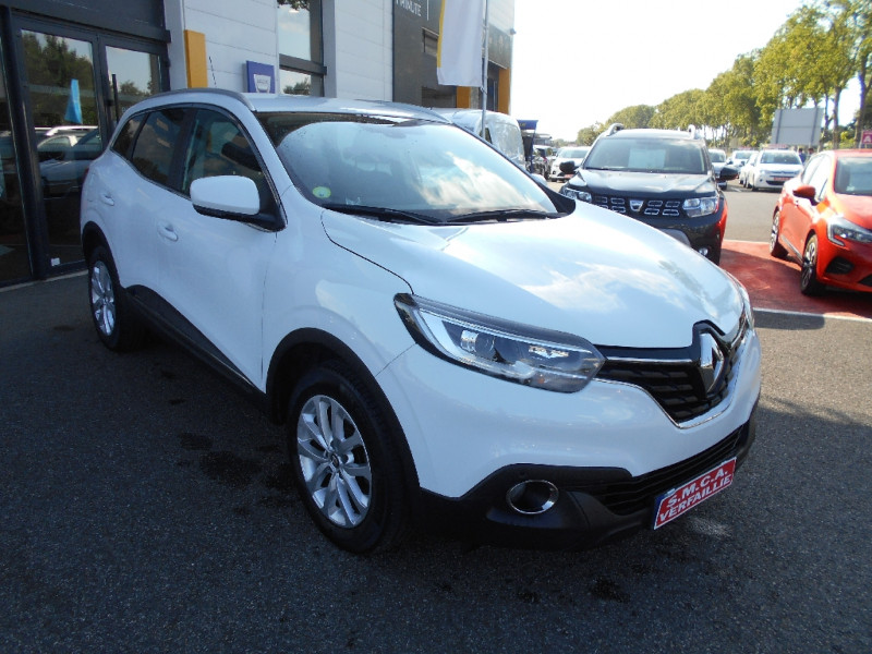 Renault Kadjar dCi 110 Energy Zen Blanc occasion à Bessières