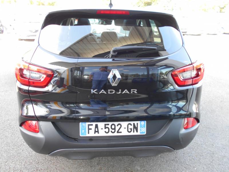 Renault Kadjar dCi 130 Energy Intens Noir occasion à Bessières - photo n°6