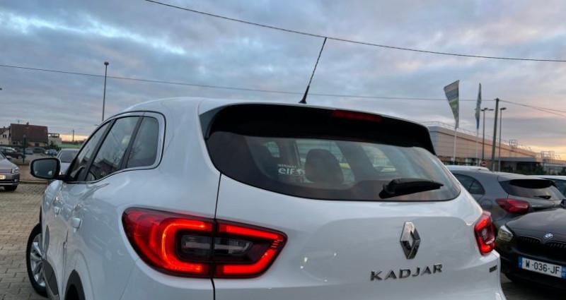 Renault Kadjar I (HFE) 1.5 dCi 110ch energy Zen eco? Blanc occasion à SELESTAT - photo n°5