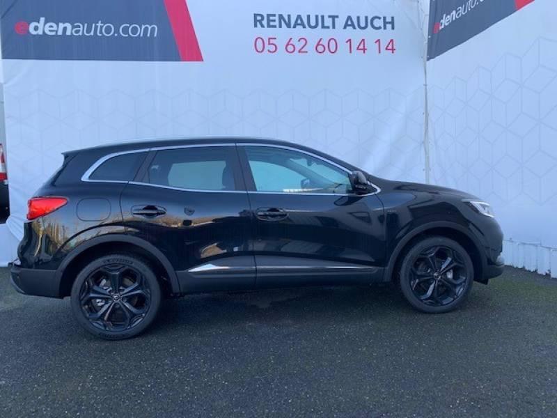 Renault Kadjar TCe 140 FAP Black Edition Noir occasion à Auch - photo n°4